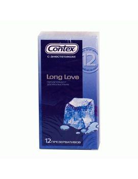 Презервативы с продлевающей смазкой Contex Long Love - 12 шт.