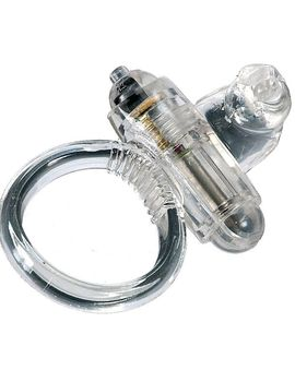 Кольцо эрекционное с микровибратором для стимуляции клитора