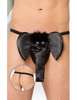 Трусы-стринги со слоном