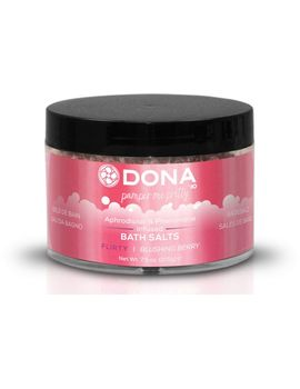 Соль для ванны DONA Flirty Blushing Berry - 215 гр.