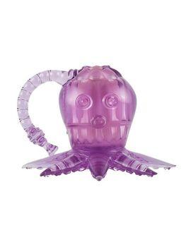 Фиолетовый вибростимулятор в виде осьминога