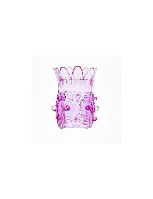 Насадка на фаллос розовая