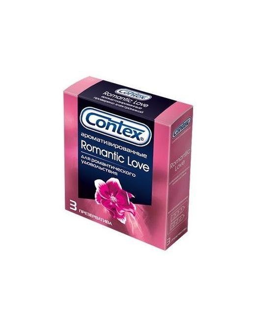 Презервативы с ароматом CONTEX Romantic - 3 шт.