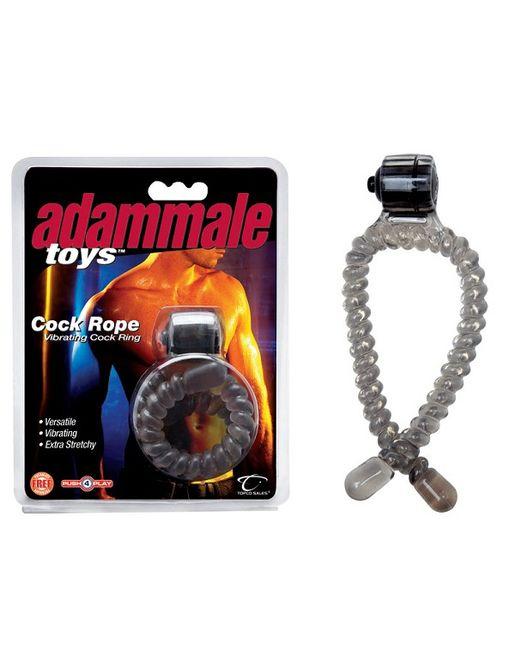 Эрекционное лассо с вибрацией Adam Male Toys Cock Rope