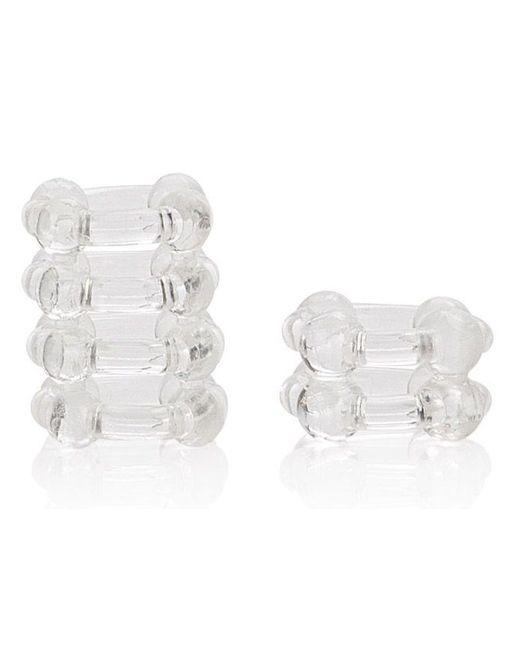Комплект из 2 прозрачных эрекционных колец COLT Enhancer Rings