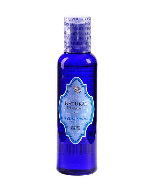 Лубрикант на водной основе Peppermint Natural Intimate Gel - 100 мл.