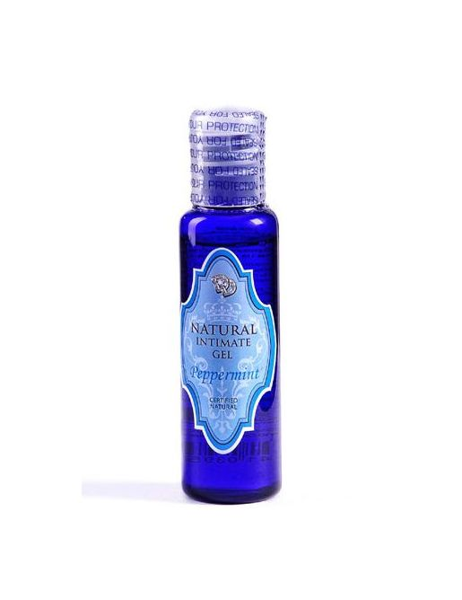 Лубрикант на водной основе Peppermint Natural Intimate Gel - 50 мл.