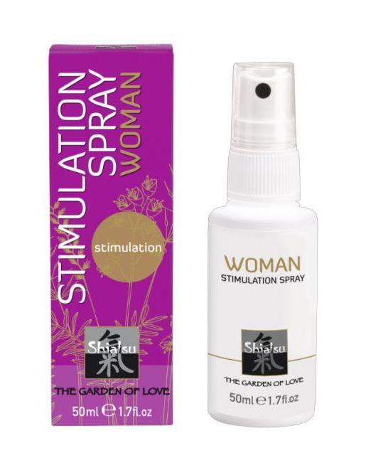 Стимулирующий спрей для женщин - 50 мл.