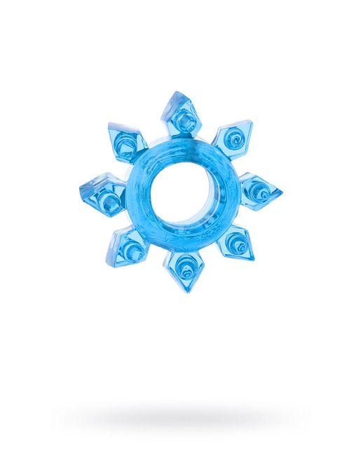 Голубая гелевая насадка-звезда