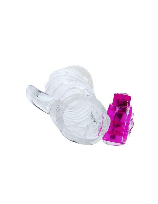 Насадка с закрытой головкой и вибрацией - 13 см.
