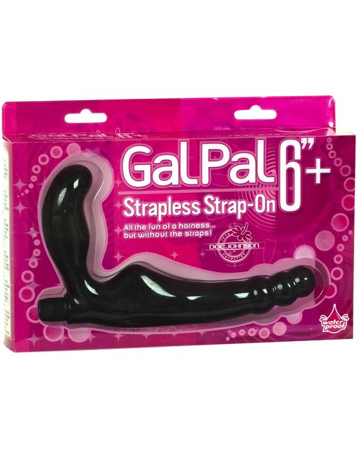 Безремневой страпон Gal Pal Strap-On 6  Strapless Harness
