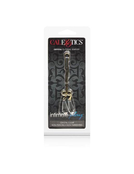 Зажим для половых губ с прозрачными кристаллами Cleopatra Collection Clitoral Jewelry Crystals