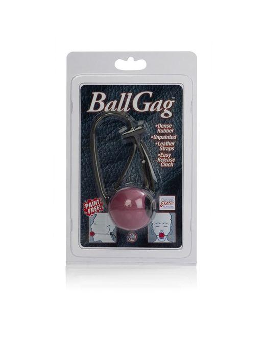 Кляп с резиновым красным шаром Ball Gags