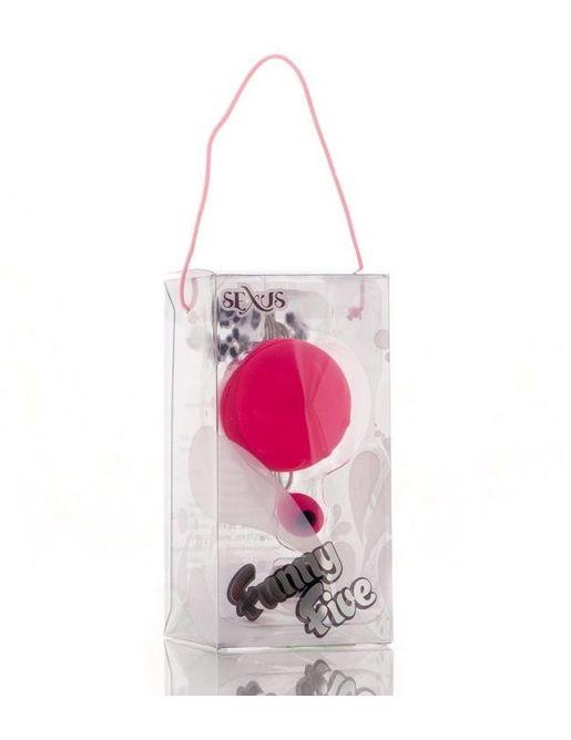 Розовый виброшарик с выносным пультом-кнопкой