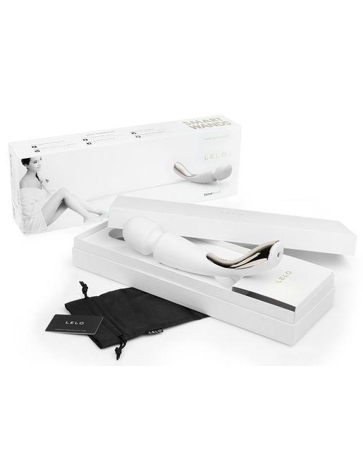 Профессиональный массажер Smart Wand Medium белого цвета